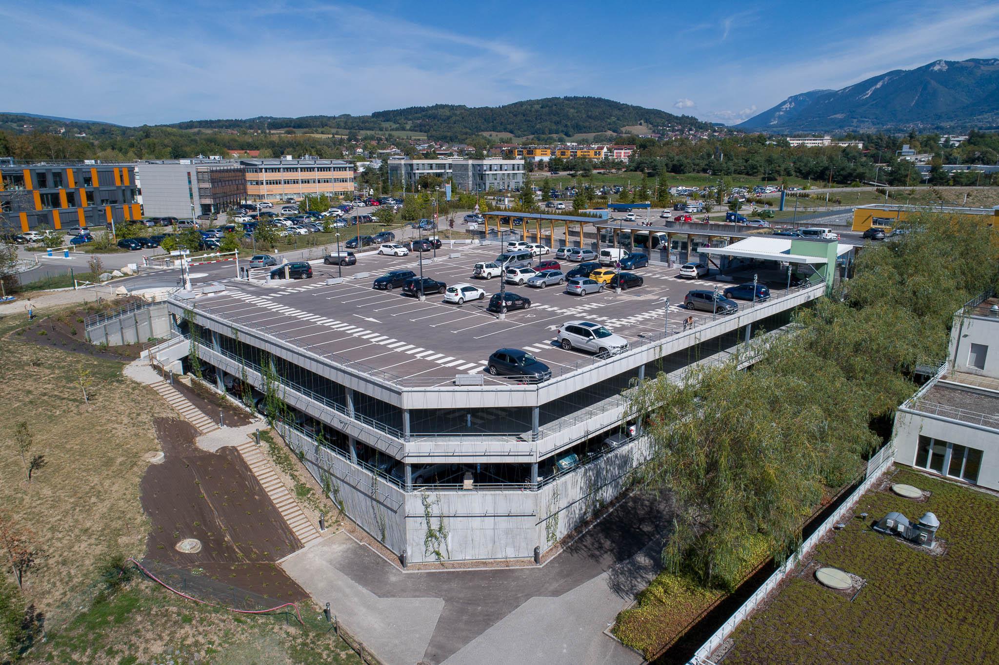 CHANGE hopital chu annecy parking silo aérien centre hospitalier clinique