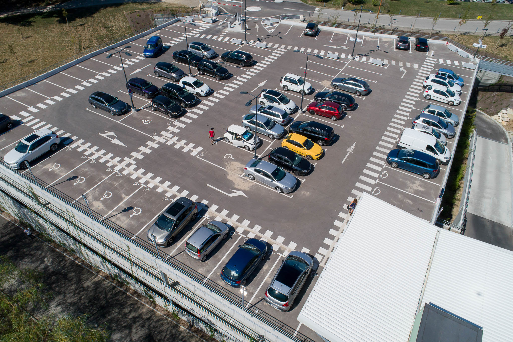 CHANGE hopital chu annecy parking silo aérien centre hospitalier clinique