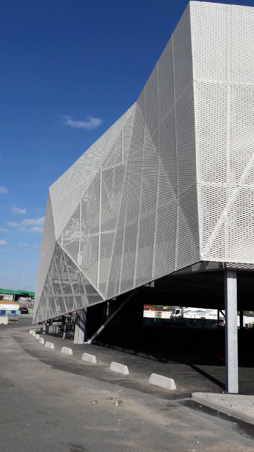 SEMMARIS Rungis marché parking aérien silo