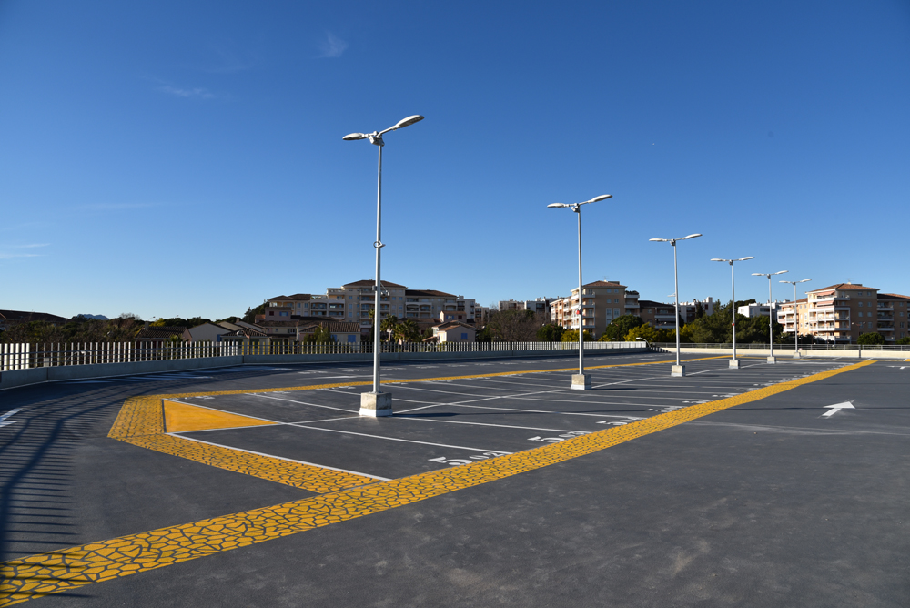 hopital chu chi frejus parking silo aérien centre hospitalier clinique