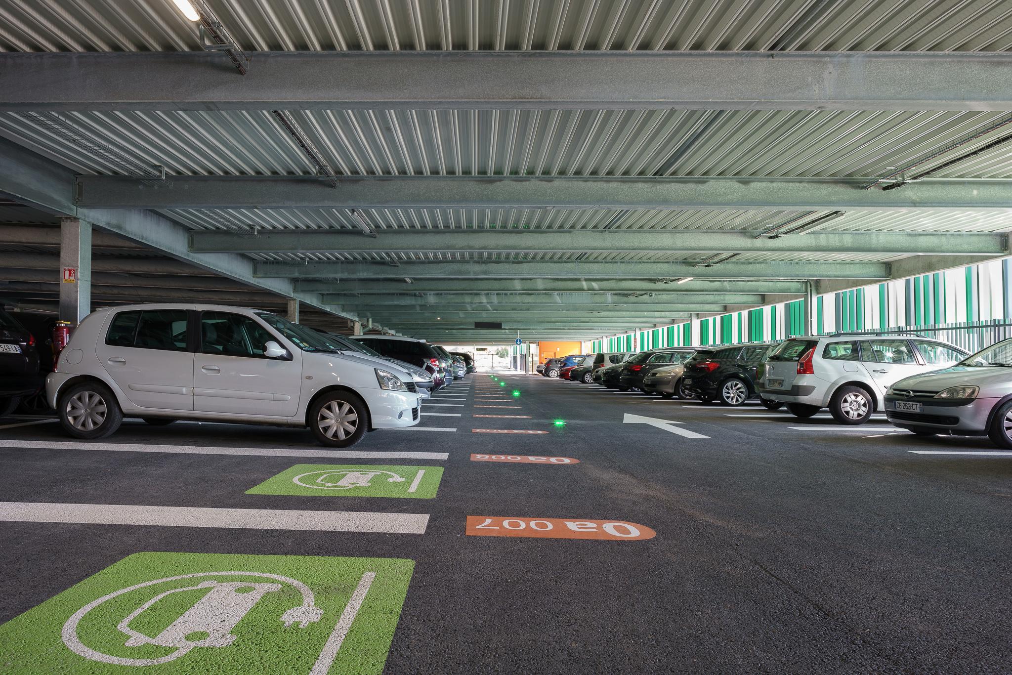 MORET VENEUX LES SABLONS parking silo EFFIA gagnepark GPK