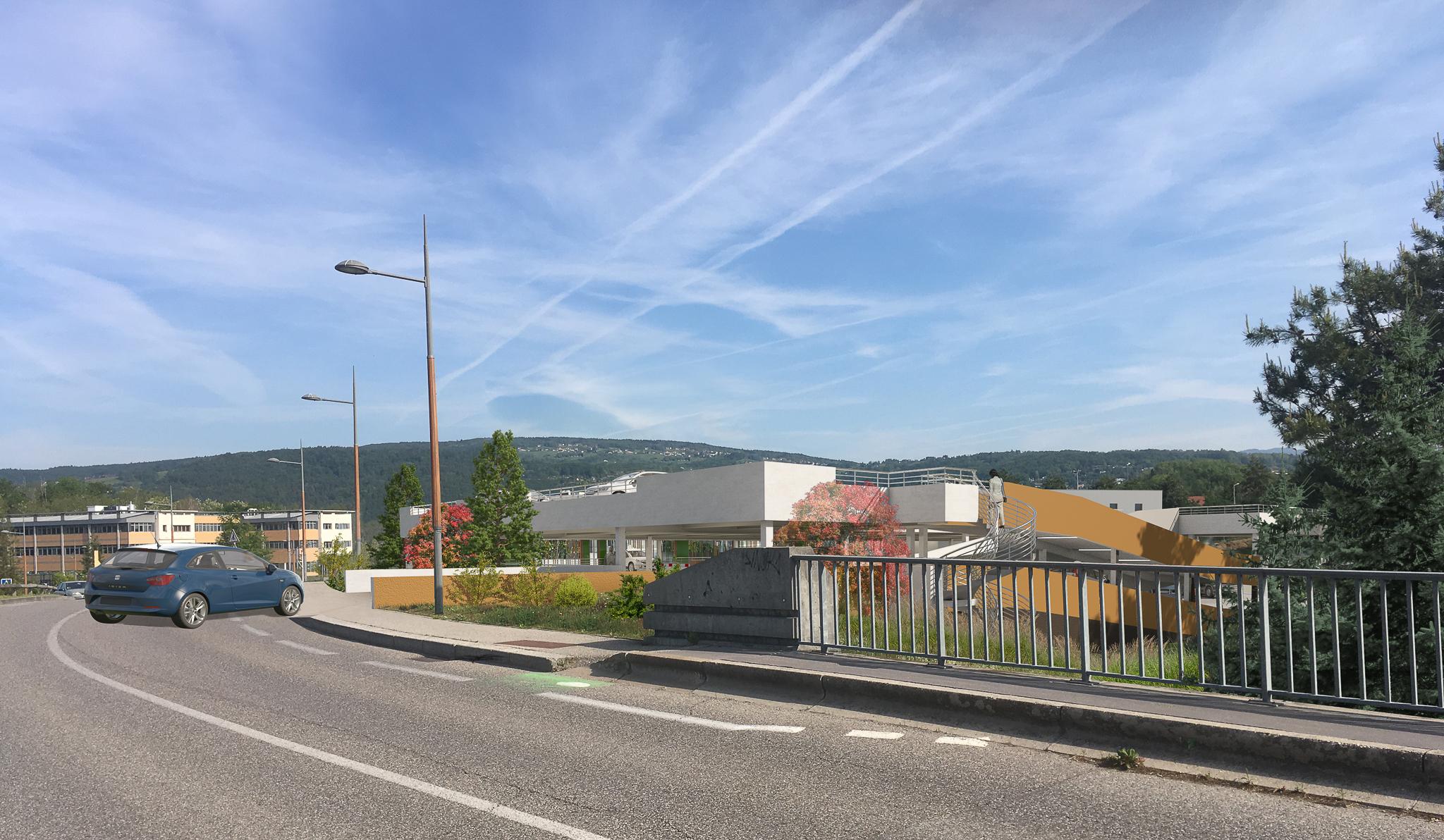 CH CHANGE annecy genevois cancerologie parking gagnepark GPK