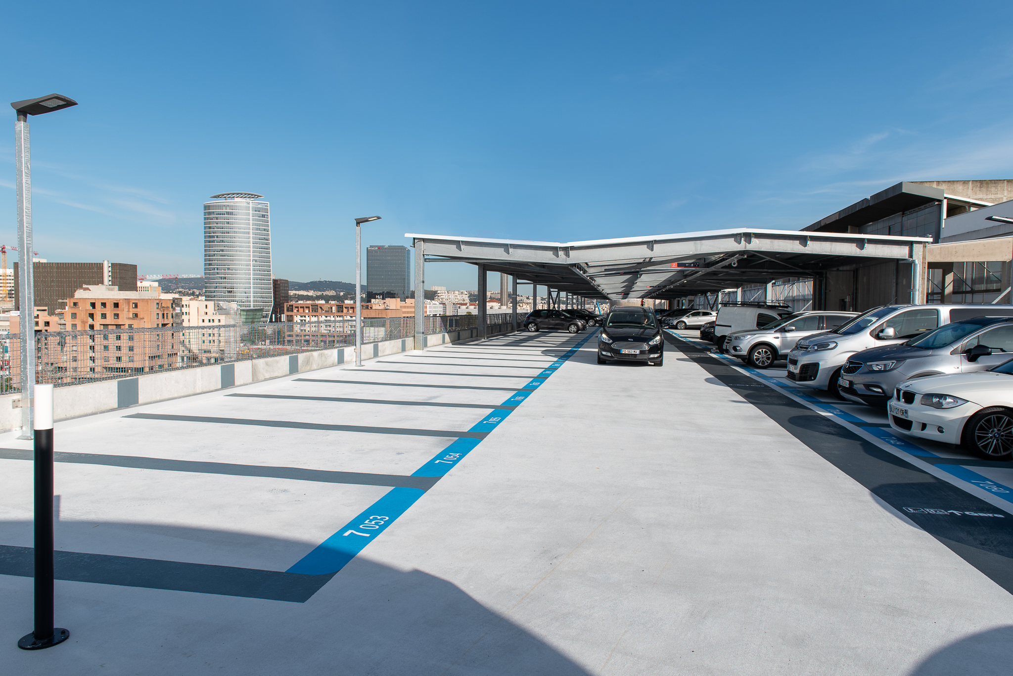 Parking Lyon Part Dieu Gagnepark GPK