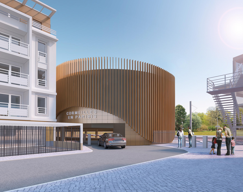 parking silo cormeilles ville stationnement gagnepark GPK